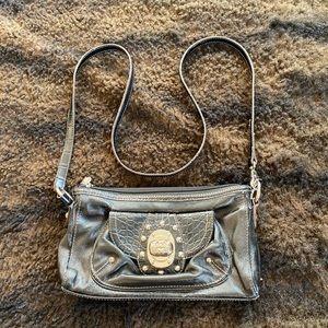 Kathy Van Zeeland black wallet purse.